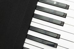 Electric piano keyboard Stock Photo
