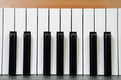 Electric piano keys  Royalty Free Stock Image