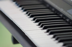 Electric piano synthesizer Stock Image