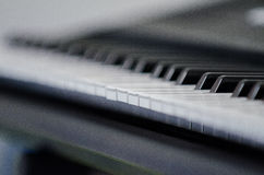 Electric piano synthesizer Stock Photography