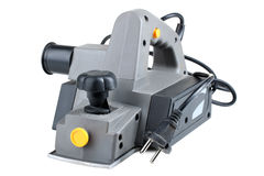 The electric planer (jointer) Stock Photo