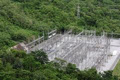 Electric plant in the forest, Thailand Stock Photo