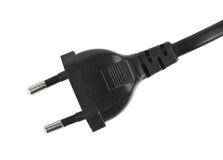 Electric plug and cable Stock Photos