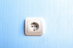Electric plug connector Stock Photos