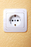 Electric plug connector Royalty Free Stock Photo