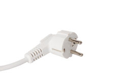 Electric plug. powerful energy Royalty Free Stock Photography