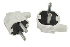 The electric plug Stock Images