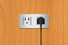 Electric plug Royalty Free Stock Photos
