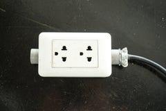Electric plug Royalty Free Stock Photos