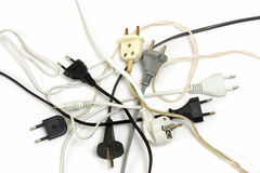 Electric plugs Stock Photography