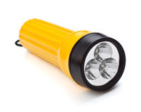 Electric Pocket Flashlight Royalty Free Stock Image