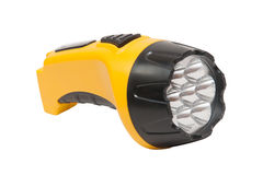 Electric pocket flashlight Stock Images