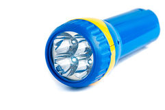 Electric Pocket Flashlight Royalty Free Stock Photos
