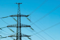 Electric pole Royalty Free Stock Images