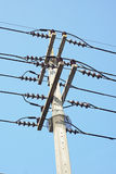 Electric pole Royalty Free Stock Photos