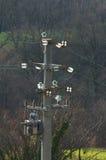 Electric pole Stock Image