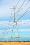 Electric pole Stock Images
