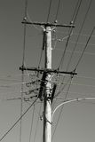 Electric pole Royalty Free Stock Photography