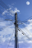 Electric pole. Stock Photos