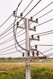 Electric pole Stock Photography