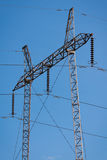 Electric poles. Image of some electric poles royalty free stock image