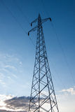 Electric poles Royalty Free Stock Images