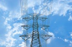Electric poles Stock Photos