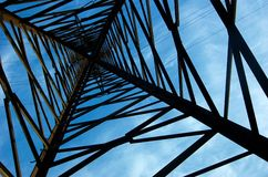 Electric poling Stock Images