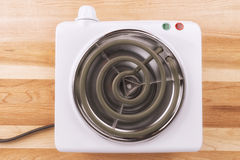Electric portable stove Royalty Free Stock Images