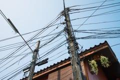 Electric post Stock Photos