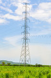 Electric post Stock Images