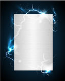 Electric poster Stock Photography
