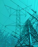 Electric power Royalty Free Stock Images