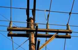 Electric power Stock Photo