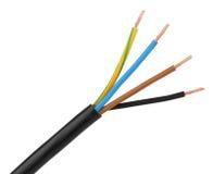 Electric Power câblent photo libre de droits