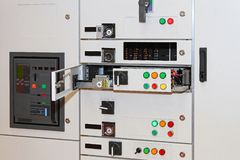 Electric power control Stock Photography