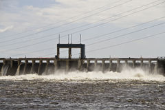 Electric Power Dam Stock Images