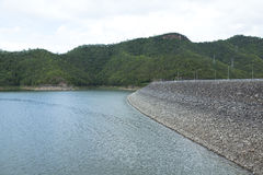 Electric power dam Stock Photography