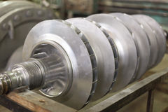 Electric power equipment rotor Stock Image