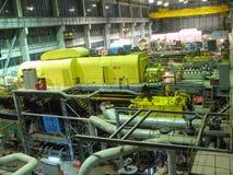 Electric power generator, night scene Royalty Free Stock Photography