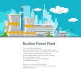 Electric Power-Getriebe von einem Kraftwerk Lizenzfreie Stockfotografie