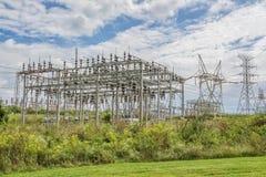 Electric Power-Gitter-Station lizenzfreies stockfoto