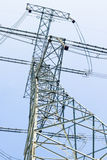 Electric Power Iron Tower Stock Photography