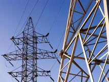 Free Electric Power Line Royalty Free Stock Images - 3326849