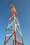 Electric Power Line Pylon Royalty Free Stock Image