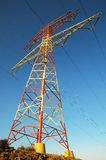 Electric Power Line Pylon Stock Photos