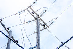 Electric power line. Stock Photos