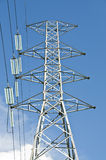 Electric power line tower Stock Images