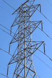 Electric Power Line Transmission Tower Stock Photos