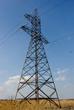 Electric Power Lines Royalty Free Stock Photography
